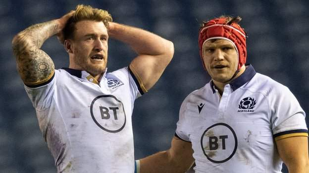 Autumn Nations Cup: Scotland 15-22 France