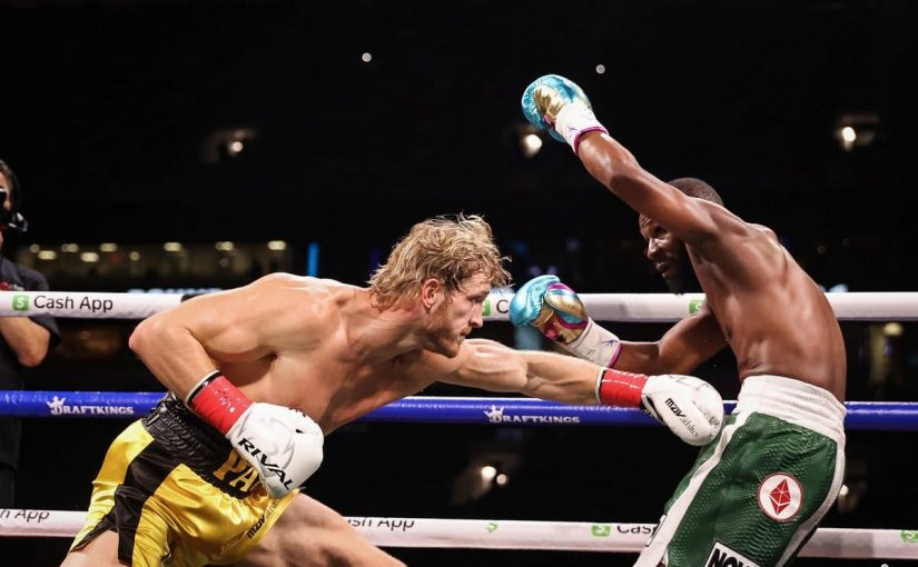 The Second Round of Mayweather Vs Logan Paul